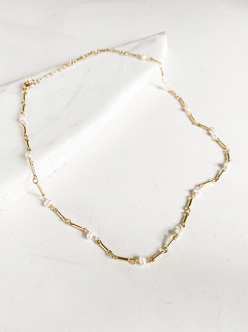 Agua Santa | Baby Pearl Necklace