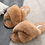 Thumbnail: OAK Furry Slides | Camel