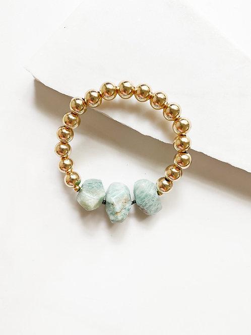 AGUA SANTA | Turquoise Stone Bracelet