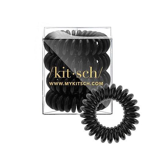 KITSCH | Black Hair Coils - 4 pack