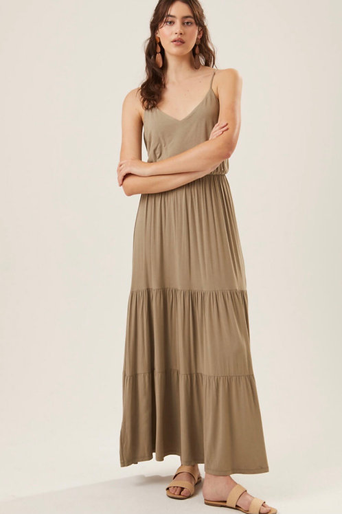 The Palm Beach Maxi | Olive