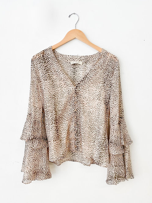 The Tanya Spotted Blouse
