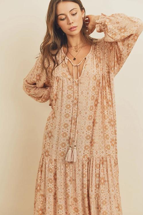 The Florence Boho Maxi Dress