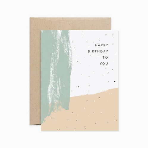 Evermore Paper Co. | Happy Birthday To You Color
