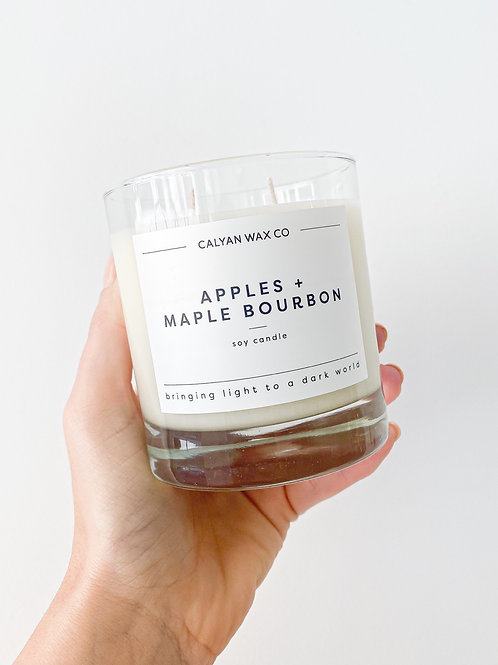 Calyan Wax Co. | Apples + Maple Fall Candle
