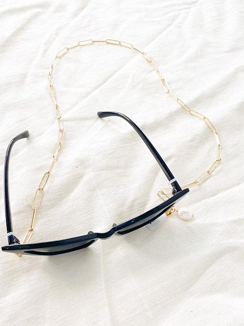 Agua Santa | Chain + Pearl  Sunglass/Mask Cord