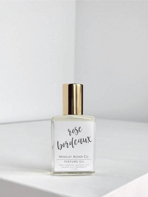Hensley Asher Co. | Rose Bordeaux Roll On Perfume Oil