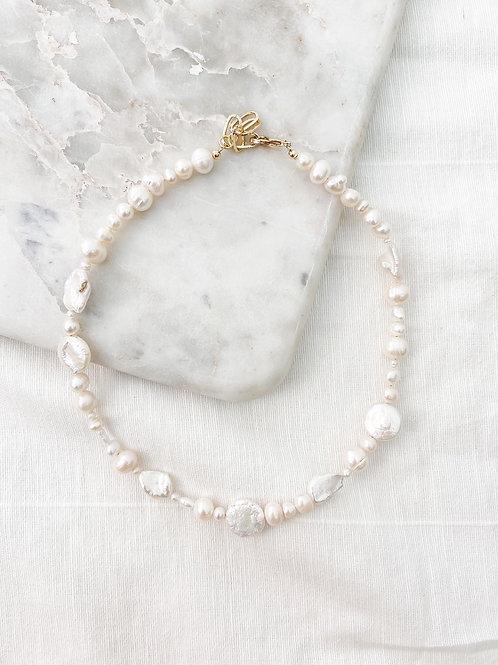 AGUA SANTA | Pearl Necklace