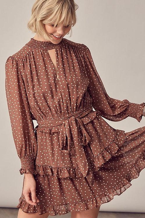 The Harmony Polka Dot Dress