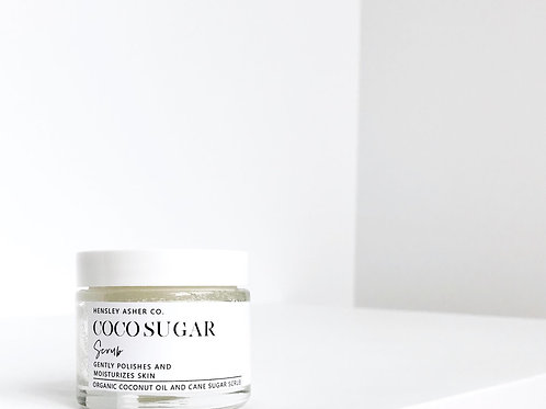 Hensley Asher Co. | Coco Sugar Scrub