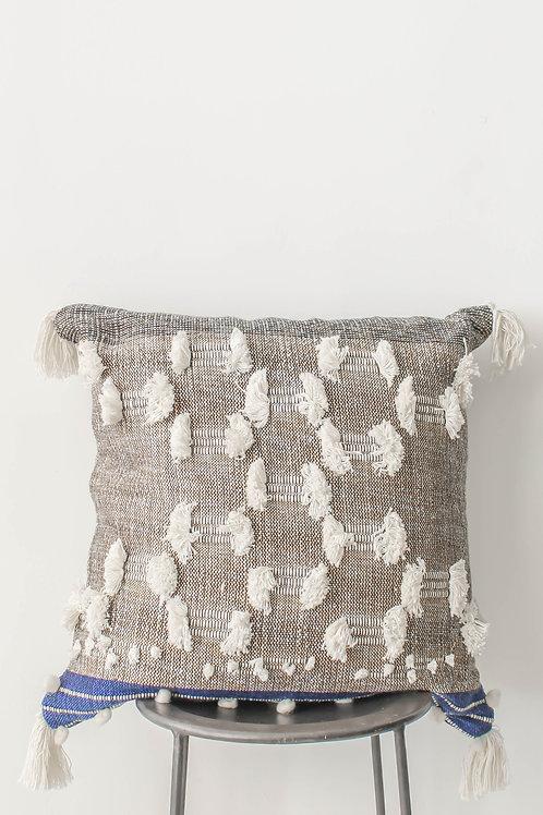 Oversized Tribal Tassel Pillow