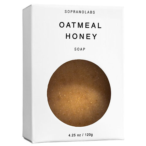 Soprano Labs | Oatmeal Honey Soap