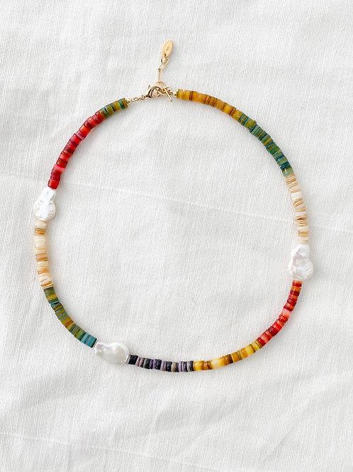 AGUA SANTA | Rainbow Pukka Shells & Pearls