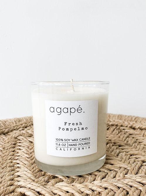 Agape Candle | Fresh Pompelmo