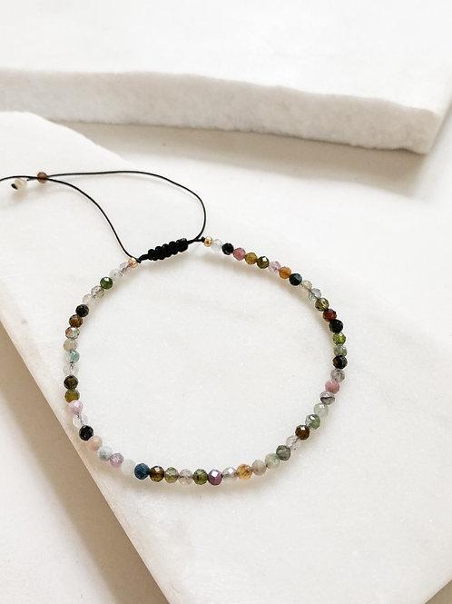 AGUA SANTA   Tourmaline Beaded Bracelet
