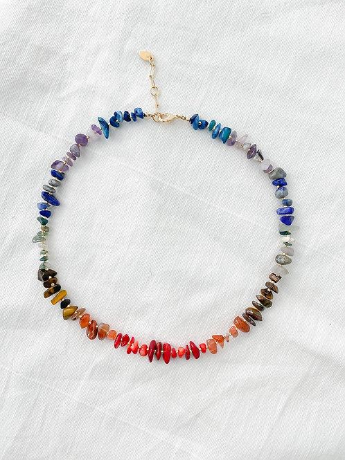 AGUA SANTA | Rainbow Shells Necklace