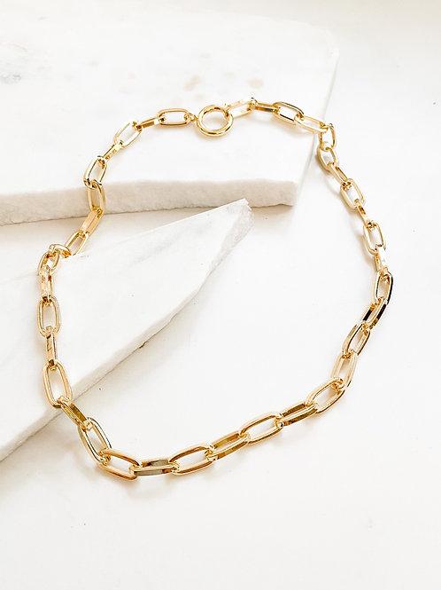 AGUA SANTA   Gold Link Chain