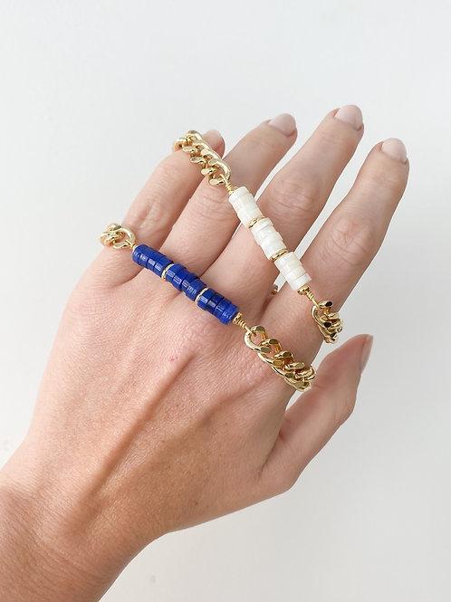 Agua Santa | Stone Bead Bracelet