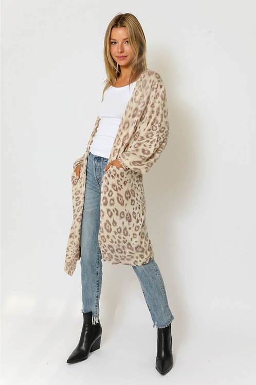 The Winona Leopard Cardigan