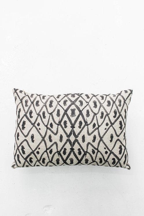 Linen Tribal Pattern Pillow