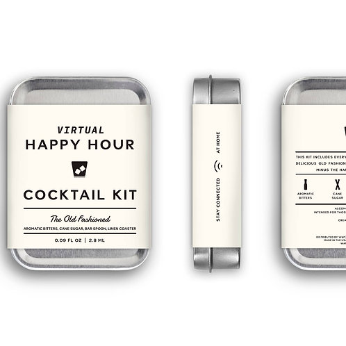 Virtual Happy Hour Old Fashioned Kit