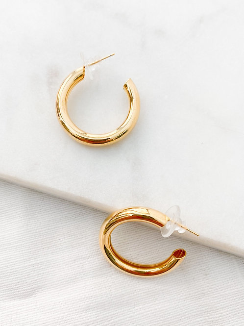 Elan Jewels | Hollow Hoop Earrings