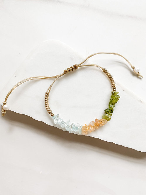 AGUA SANTA | Crystal Beaded Bracelet