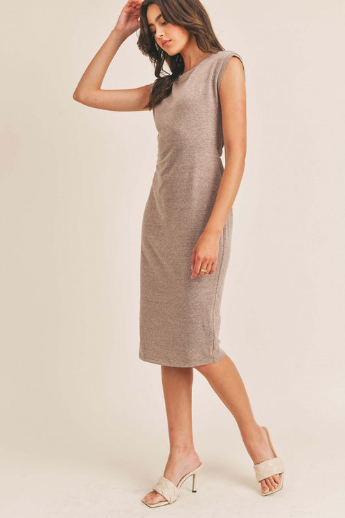 The Kristen Open Back Midi Dress