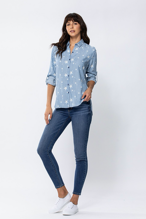 The Skye Long Sleeve Classic Button-Down