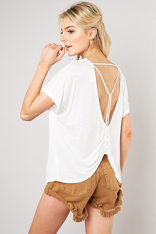 The Chase Open Back T
