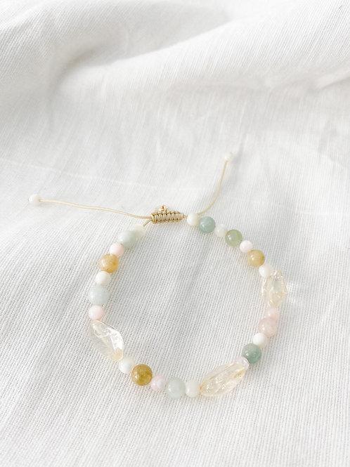 Agua Santa | Like The Sea beaded bracelet