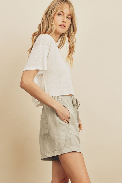 The Mae Cropped T
