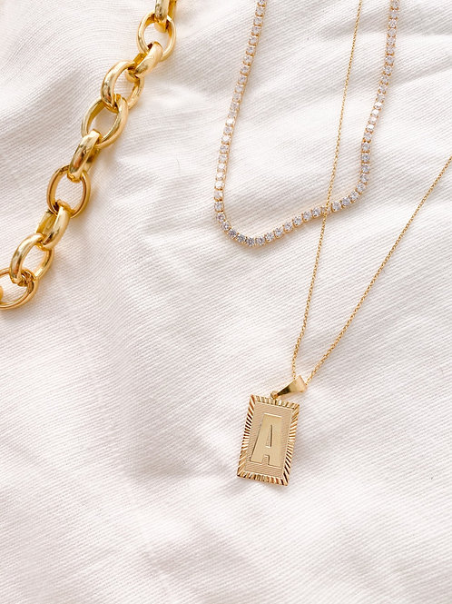 Elan Jewels | CZ Tennis Necklace