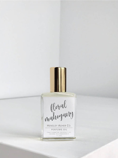 Hensley Asher Co. | Floral Mahogany Roll On Perfume Oil