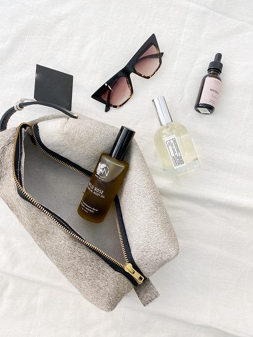 CB   Fur/Hide Travel Bag