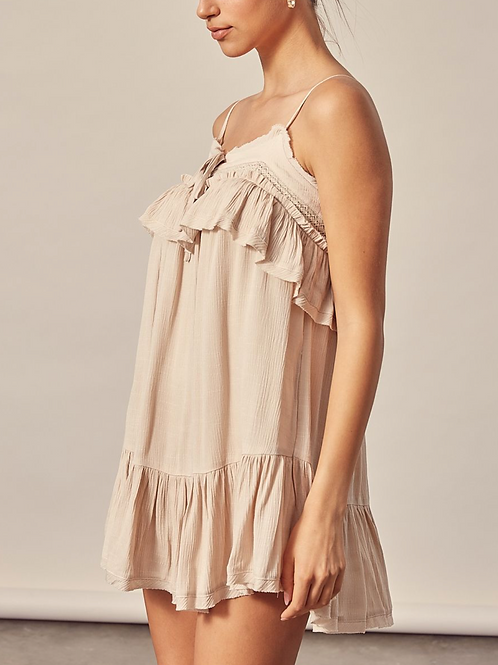 The Lacey Romper Dress