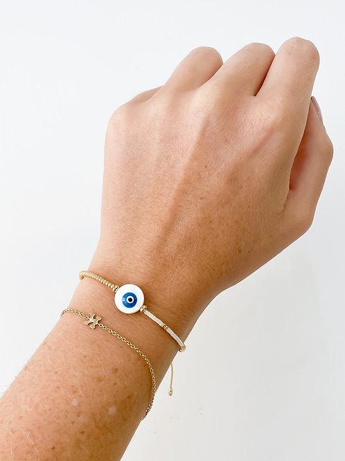 Agua Santa | Round Evil Eye Bracelet