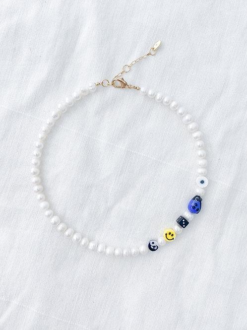AGUA SANTA | Pearl & Fun Beads Choker