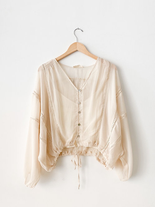 The Mallory Chiffon Blouse