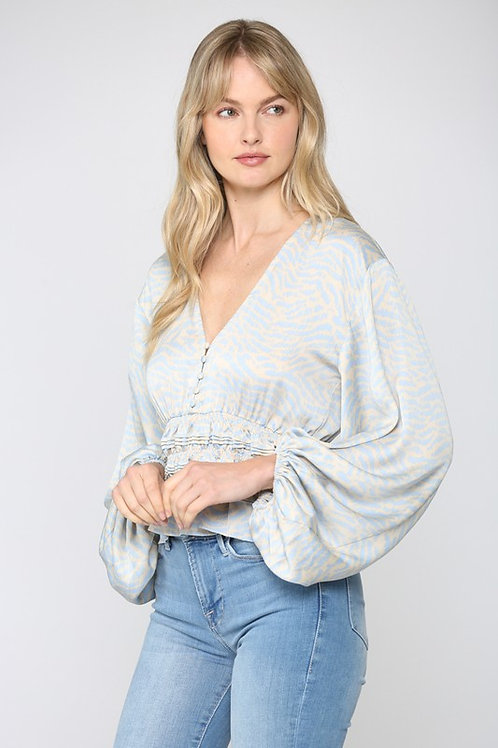 The Barbie Bell Sleeve Blouse