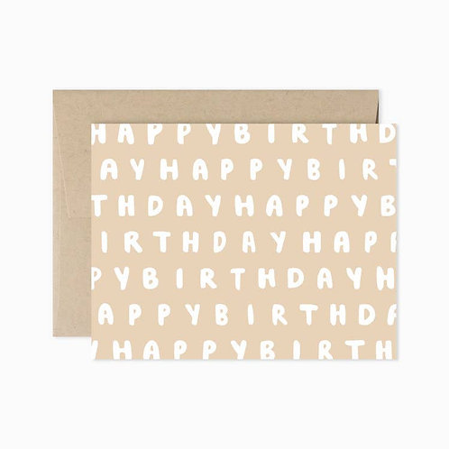 Evermore Paper Co. | Happy Birthday
