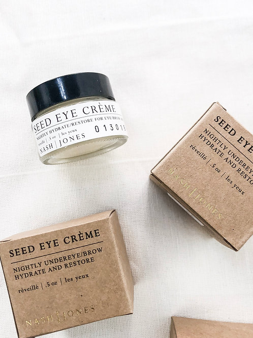 Nash+Jones | Seed Eye Creme