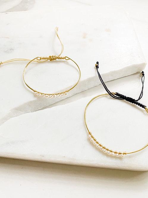 Agua Santa | Pearl Wrapped Bracelets