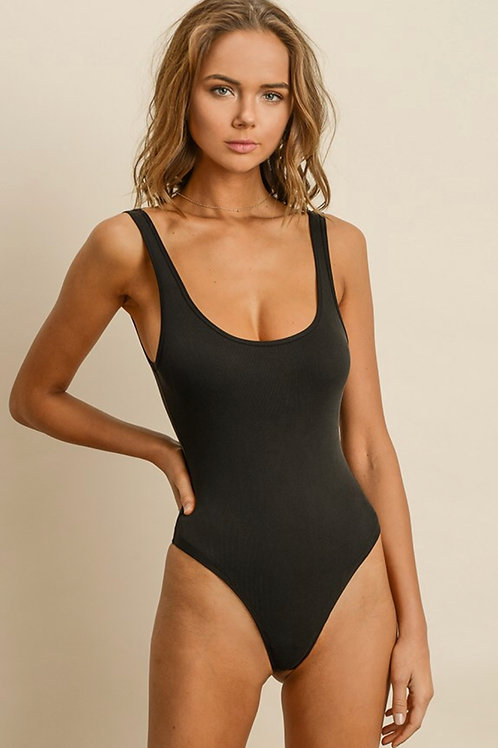 The Olivia Bodysuit | Black