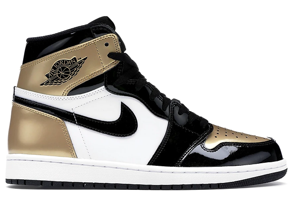 Jordan 1 Retro High NRG Patent Gold Toe
