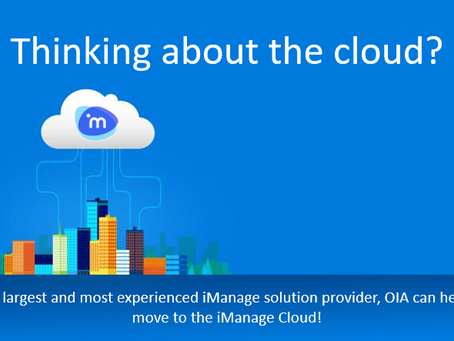 Thinking about the Cloud?
