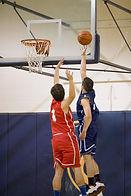 Juego de baloncesto de la escuela secund