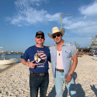 Handler and Pardi on the Beach