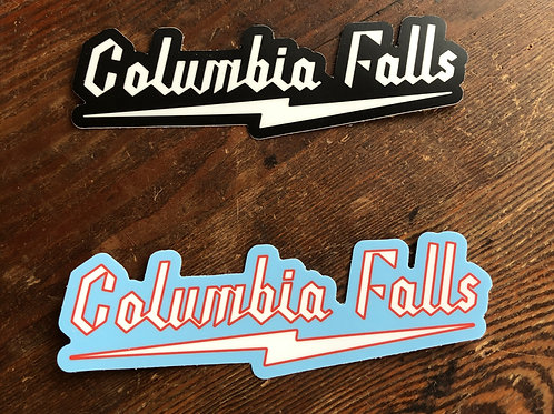 COLUMBIA FALLS DECAL