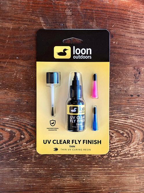 Loon UV Clear Fly Finish - (thin)